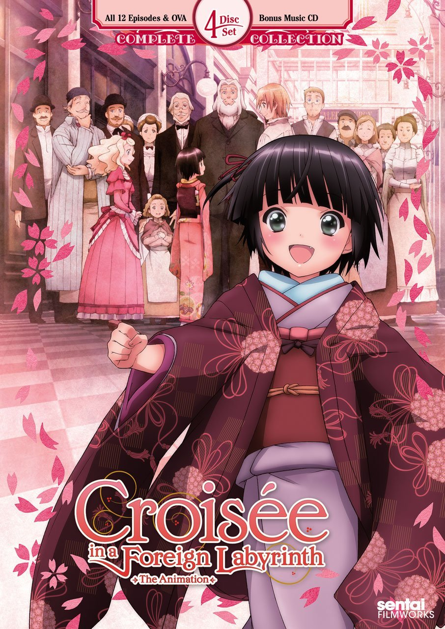 When i first saw the dvd box cover to croisée in a foreign labyrinth my need not to judge anime based on the cover came out in full force